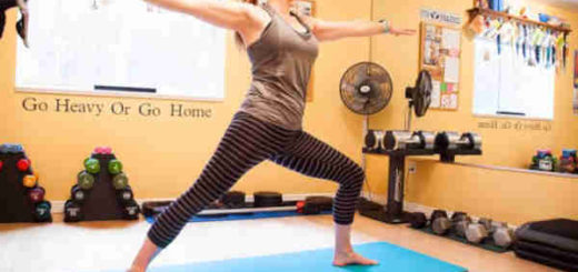 Yoga Weight Loss Plan -warrior pose